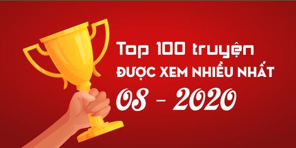 Top 100 truyện sắc hiệp trên Sắc Hiệp Viện được xem nhiều nhất tháng 08/2020