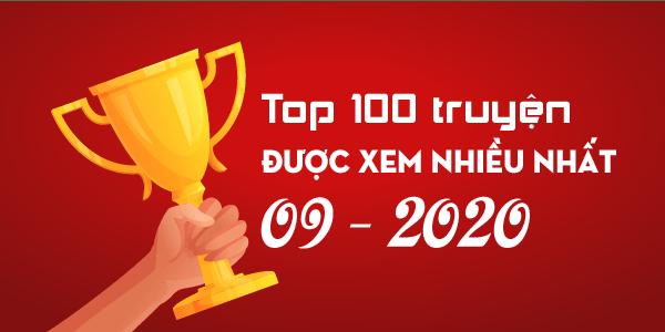 Top 100 truyện sắc hiệp được xem nhiều nhất tháng 09 năm 2020