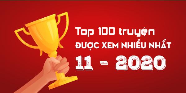 Top 100 truyện sắc hiệp xem nhiêu nhất tháng 11/2020 trên Sắc Hiệp Viện