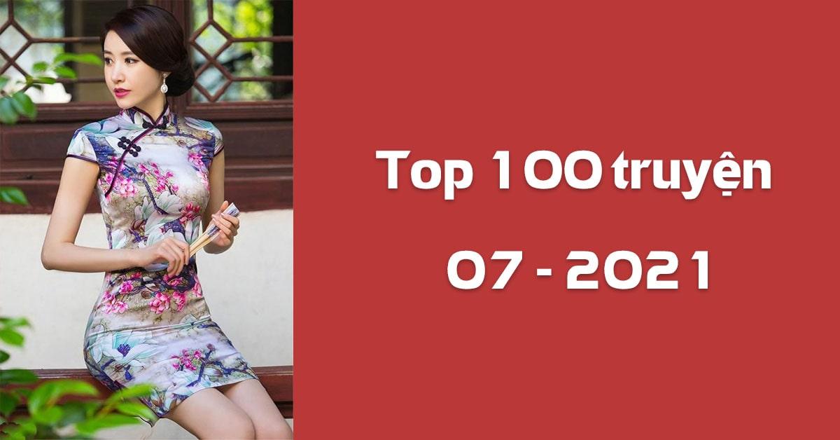 Top 100 truyện tháng 07/2021