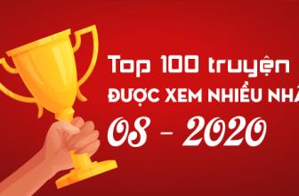 Top 100 truyện được xem nhiều tháng 08/2020 (Thống kê từ Google Analytics)